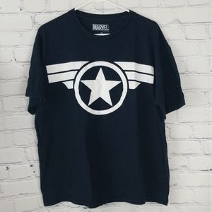 Mens navy blue Marvel tshirt size extra large